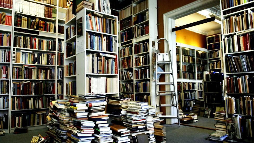 Mange brukte bøker i Oslo