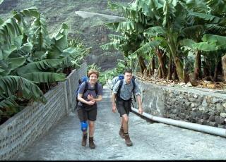 LA PALMA:  Fuktig og frodig som en regnskog er dette øya for fotturister. Foto: GEIR BØLSTAD