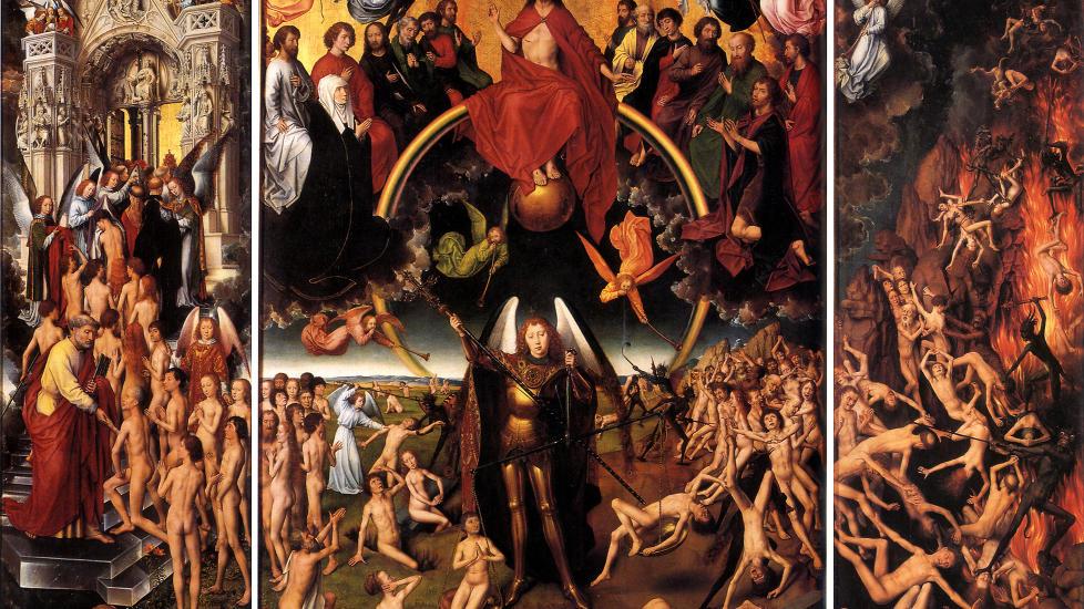 Hans Memling «Dommens dag» (1466-1473)