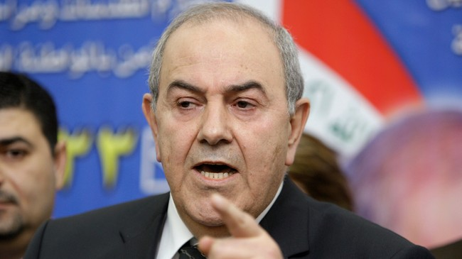 Iyad Allawi (Foto: Saad Shalash/Scanpix/Reuters)