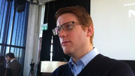 Martin Henriksen (Foto: Siv Sandvik/NRK)
