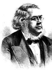 Forfatter og folkeminnesamler Peter Christen Asbjørnsen (1812-1885). (Foto: Wikimedia Commons)