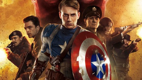 Captain America: The First Avenger (poster) (Foto: United International Pictures)