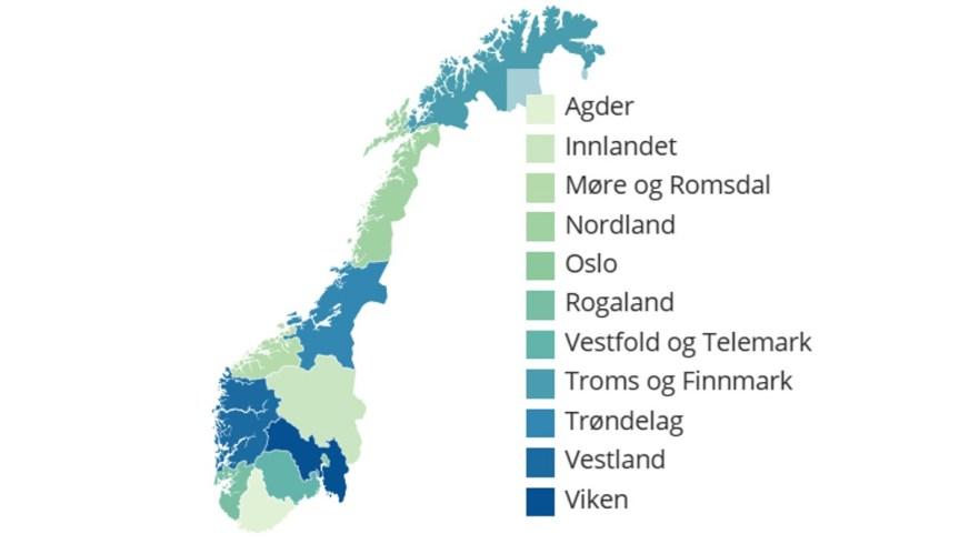 Nytt Norgeskart i 2020 – Siste nytt – NRK