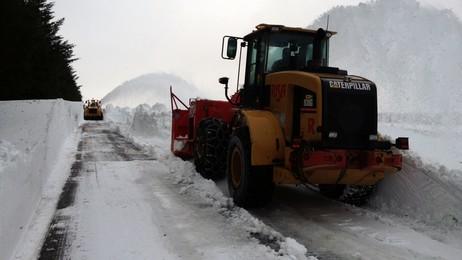 Snøfresing på Jæren (Risa AS)