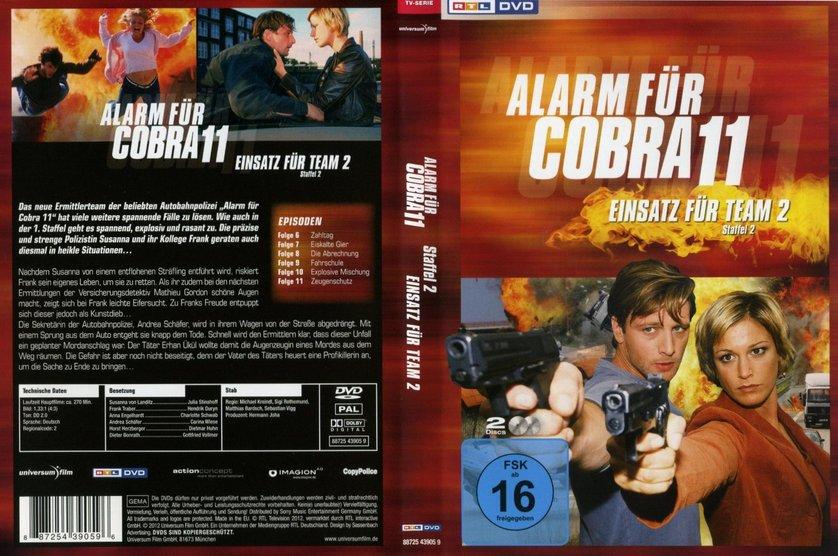 Alarm für Cobra 11 - Einsatz für Team 2 - Staffel 2: DVD