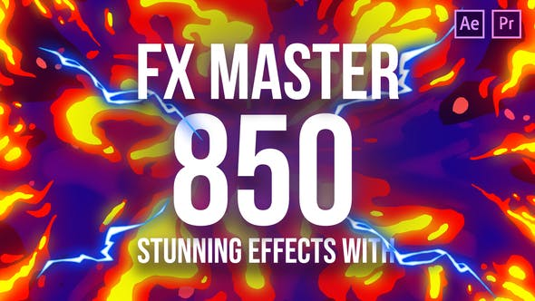 VIDEOHIVE FX MASTER – CARTOON ACTION ELEMENTS