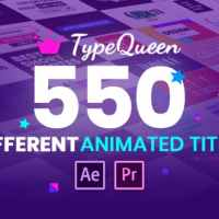 VIDEOHIVE TYPEQUEEN - ANIMATED TITLE AND KINETIC TEXT