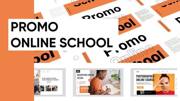 VIDEOHIVE PROMO ONLINE SCHOOL PRESENTATION
