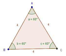 Ligesidet trekant