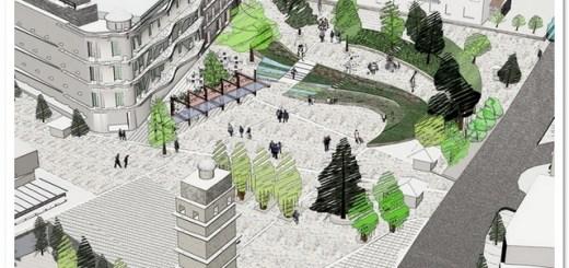 Διαμόρφωση της κεντρικής πλατείας της Κοζάνης