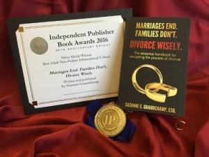 Divorce Wisely - IPPY Award - Suzanne Grandchamp