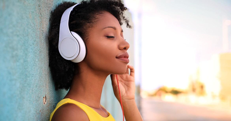 Listen to calming music