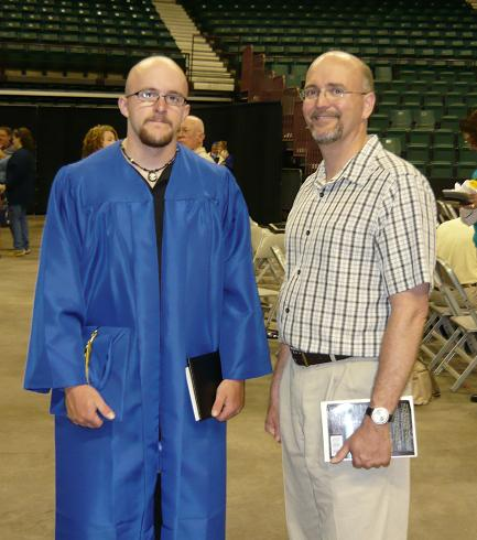 grad dad and andrew
