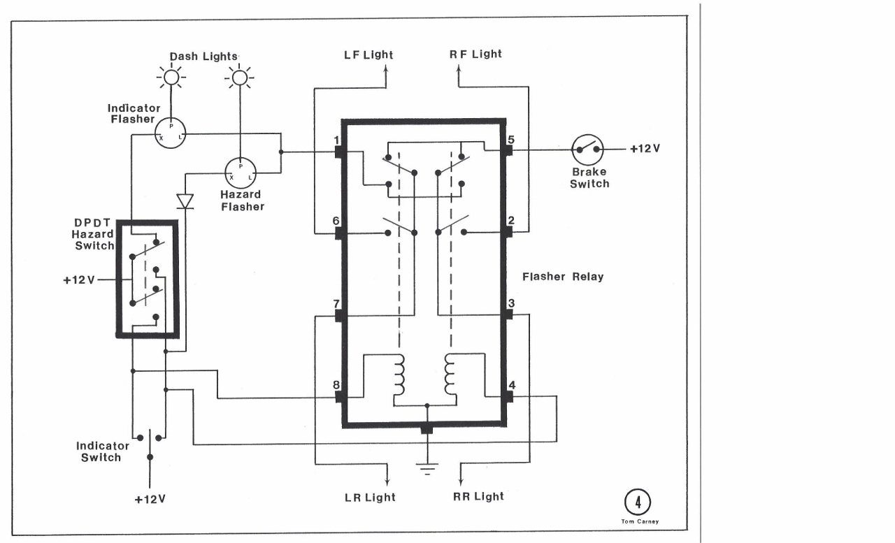 Wiring Manual 12 Volt Double Pole Double Throw Relay
