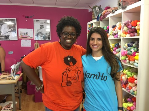 GG goes to Trenton Knit n Stitch | GGmadeit