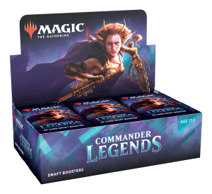 Magic the Gathering Commander Legends Draft Boosters