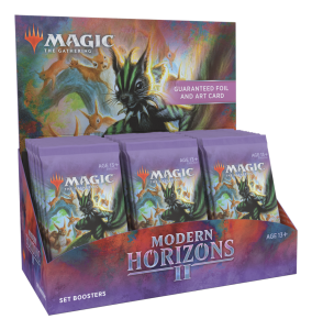 Picture of Modern Horizons 2 Set Booster Box display