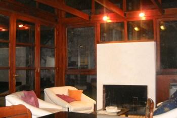 Ampliación en madera y vidrio 2