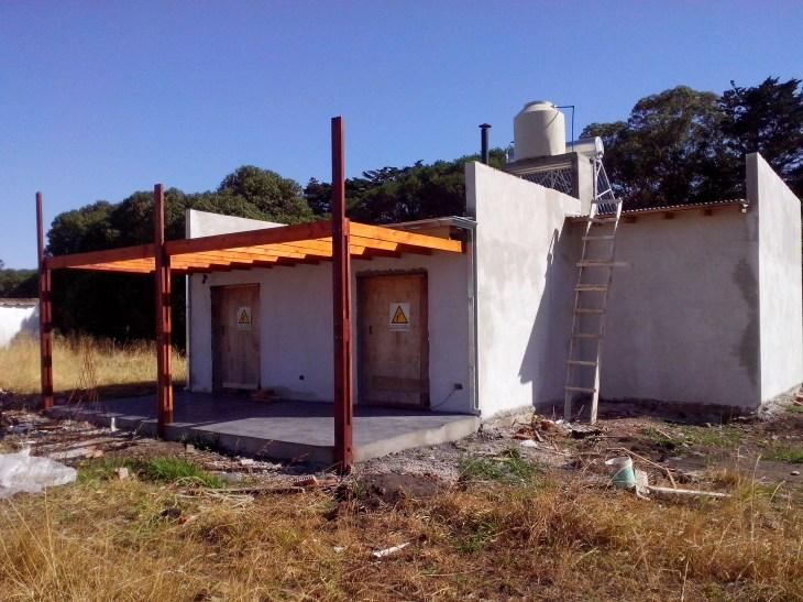 Procrear solar + Aislamiento Térmico y calef a leña 4