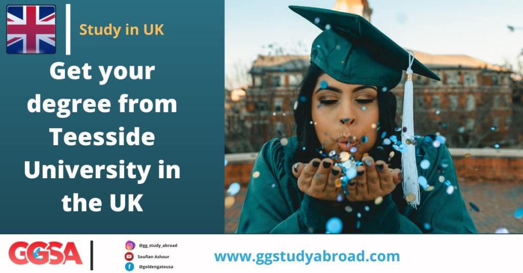 Why doing your undergraduate studies at Teesside University in the UK?
