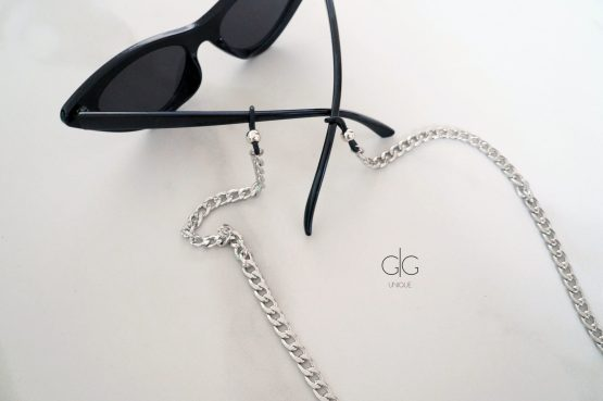 Stainless steel glasses chain - GG UNIQUE
