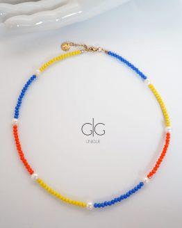 Multi color Bonita necklace - GG UNIQUE
