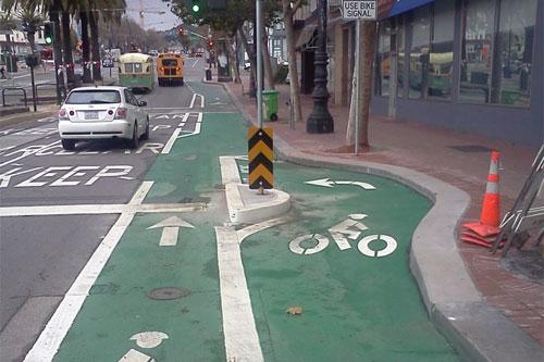 Bike Bays Make Left Turns Safer Greater Greater Washington
