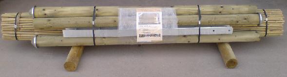Garten planen-Bambuszaun Verpackung