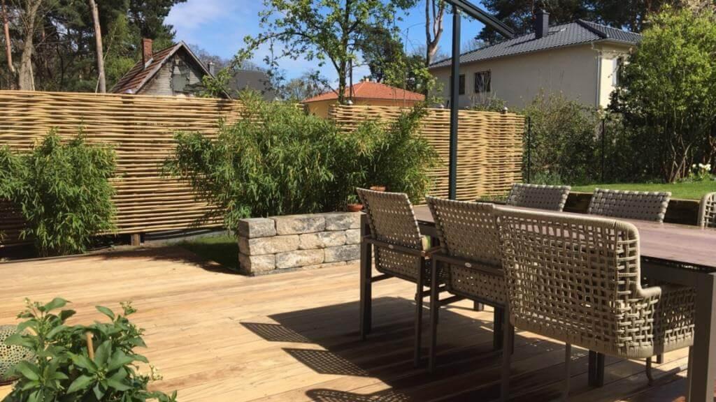 Gartengestaltung Ideen Sichtschutz Terrasse