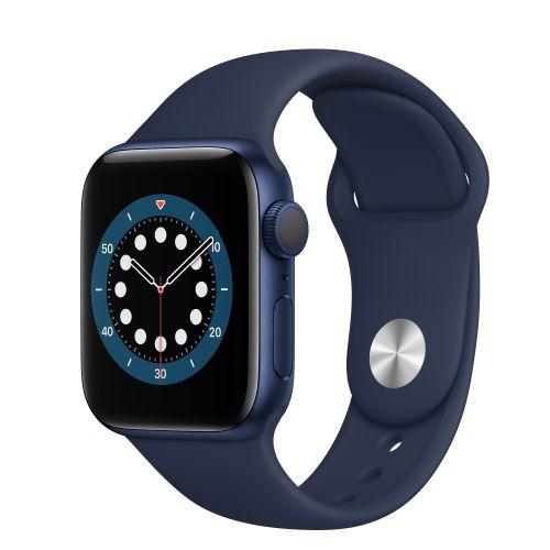 Watch Series 6 - 40mm GPS Deep Sport Smart Watch - Navy Blue