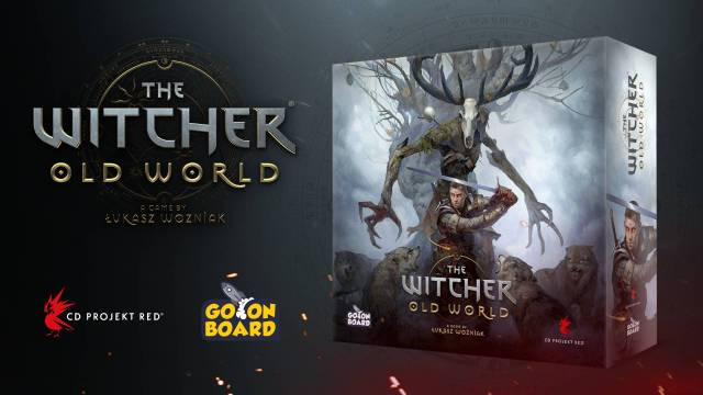 The Witcher Old World – un kickstarter pour le jeu de plateau
