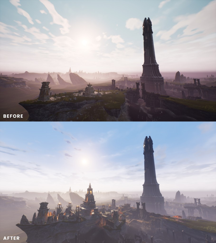 Conan Exiles Before / After
