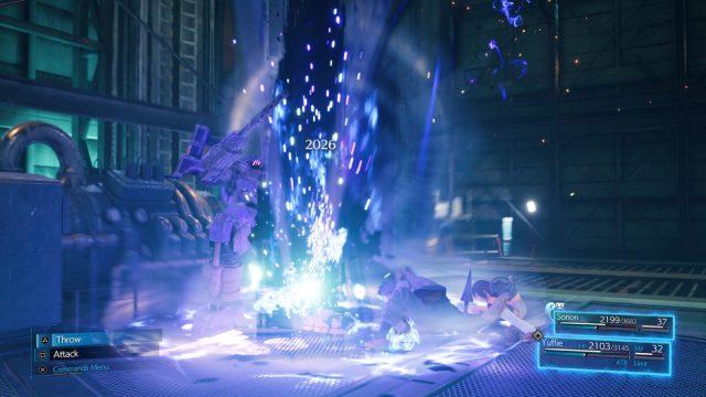 Final Fantasy VII Remake Intergrade  screen éditeur