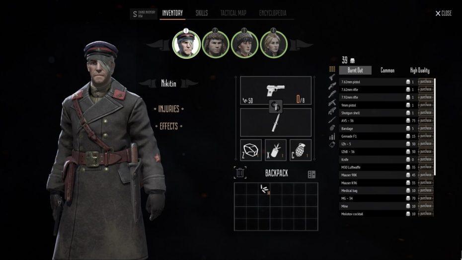 Partisans 1941 test
