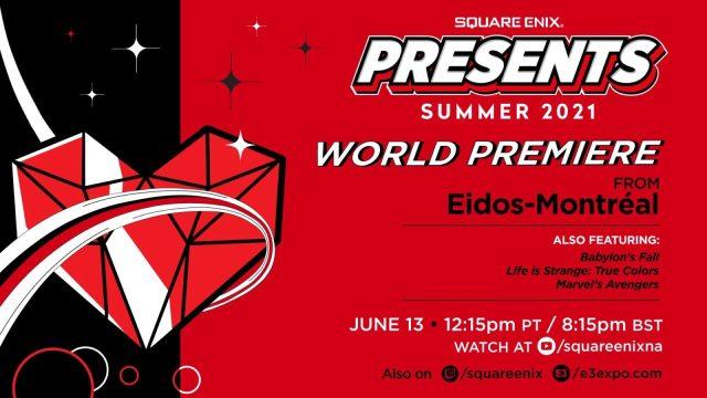 E3 : La conf Square Enix les infos!