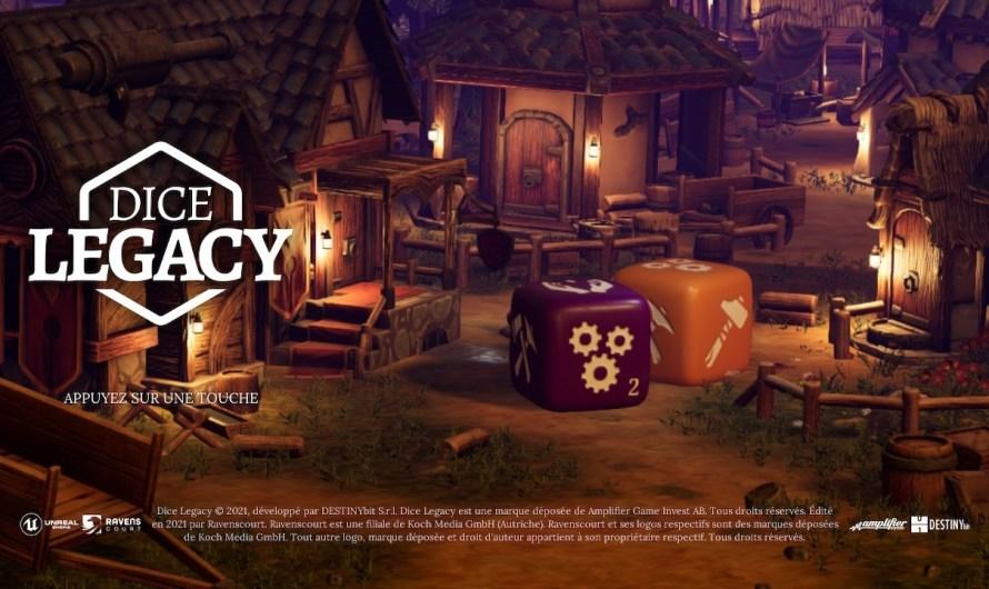 Test Dice Legacy Switch : un jeu original, accrocheur mais pas sans défaut