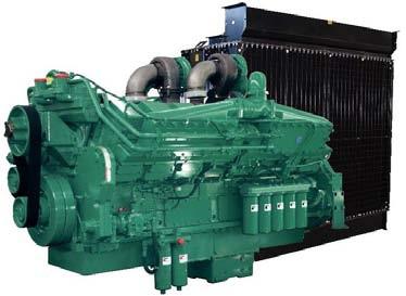 Cummins Diesel Engine KTA38-G4 60Hz- 1140 KVA Image