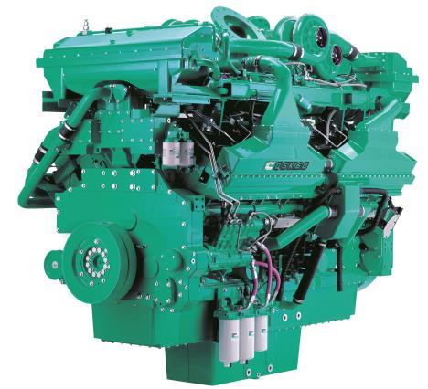 Cummins Diesel Engine QSK60-G7 60Hz- 2300 KVA Switchable Image