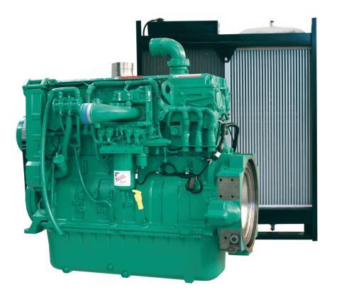 Cummins Diesel Engine QSX15-G4 60Hz- 450 KVA - Switchable Image