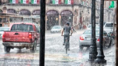 صورة بعد ارتفاع درجات الحرارة.. أمطار رعدية وثلوج في عدد من المناطق