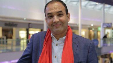 صورة بعد الهجوم الذي تعرض له.. رشيد الوالي من جديد مع الممثلة سعاد صابر