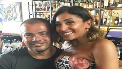 صورة تفاصيل صادمة حول انفصال عمرو دياب ودينا الشربيني