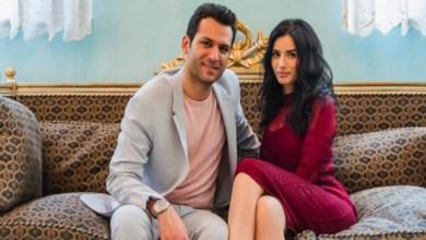 صورة إيمان الباني تدعم زوجها التركي بكلمات عربية رومانسية