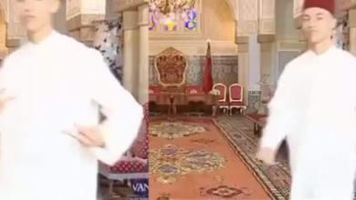 صورة بالفيديو- الأمير مولاي الحسن في لقطة طريفة كما لم تروه من قبل.. وهذه لحظة تصويرها