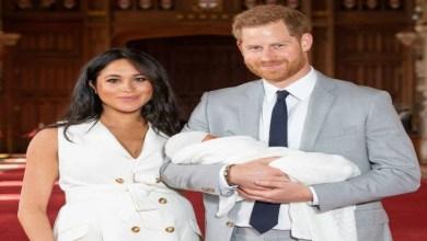 صورة هاري وميغان ماركل يستقبلان مولودتهما