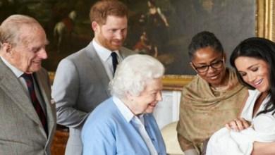 صورة بالصور.. الظهور الأول لمولود الأمير هاري وميغان ماركل