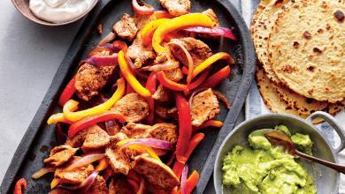 صورة مطبخ غالية.. طريقة تحضير فاخيتاس الدجاج والفلفل