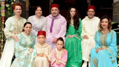 صورة العائلة الملكية المغربية تحتفل اليوم بهذه الذكرى