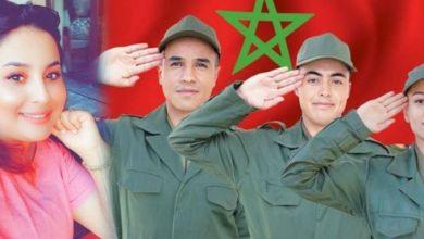 صورة تعرفي على أول شابة مغربية تتوصل بأمر الإلتحاق بالتجنيد